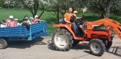 Exkurzia na farmu