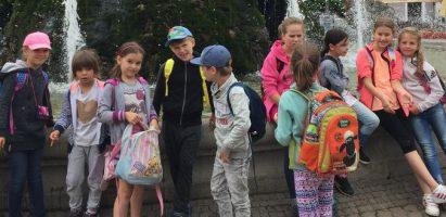 Školský výlet prvákov a tretiakov, alebo zážitkové učenie