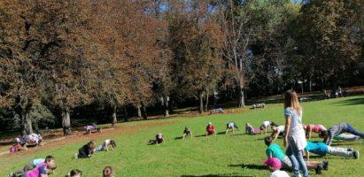 Cvičenie v prírode