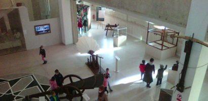 Návšteva výstavy – Stroje Leonarda da Vinci v Synagóge